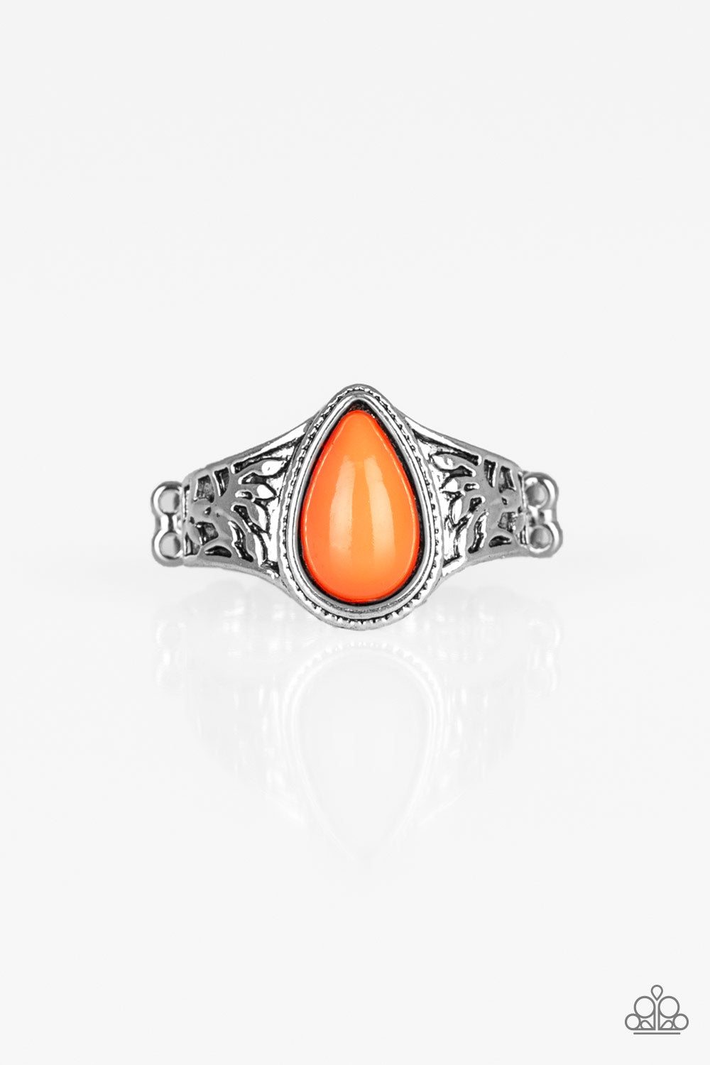 The Zest Of Intentions Orange Ring Paparazzi Accessories Bedazzle Me Pretty Mobile Fashion Boutique