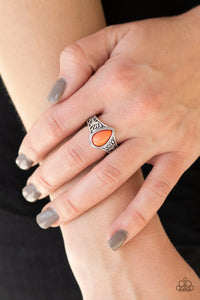 The Zest Of Intentions - Orange Ring - Paparazzi Accessories