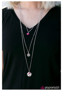 To Love and Be Loved - Pink Necklace - Paparazzi Accessories