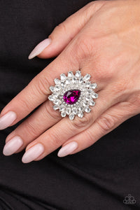 Who's Counting - Pink Ring - Paparazzi Accessories