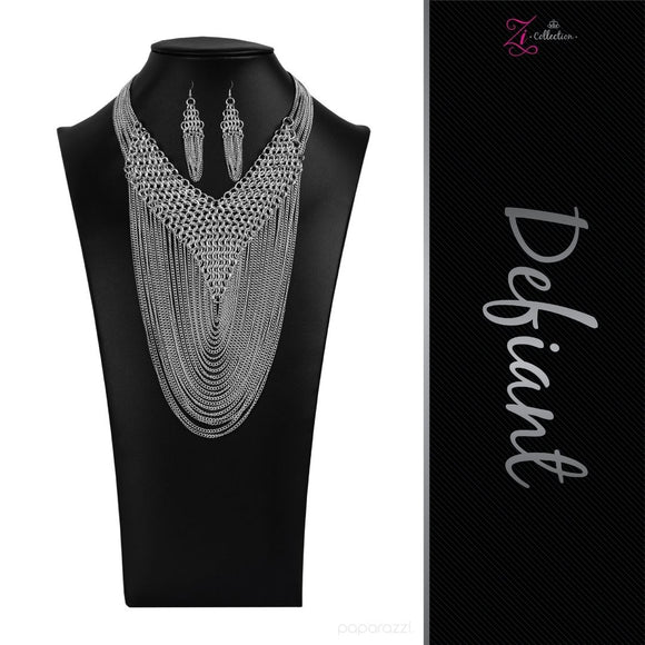 Defiant - 2020 Zi Collection Necklace - Paparazzi Accessories