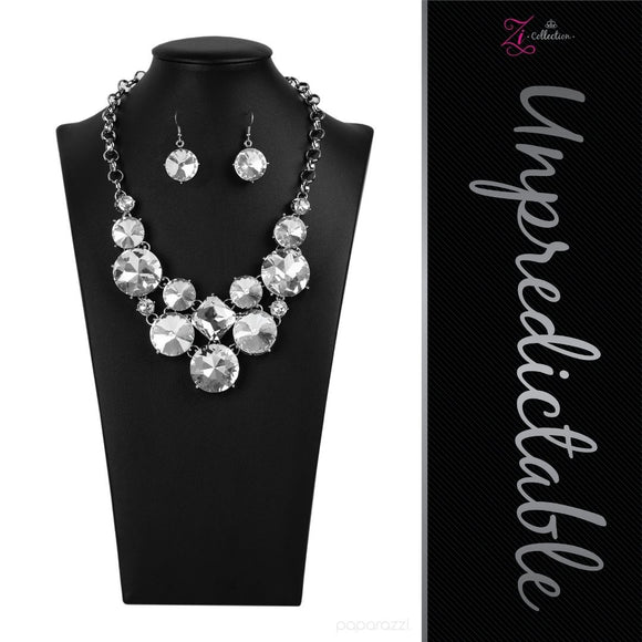 Unpredictable - 2020 Zi Collection Necklace - Paparazzi Accessories