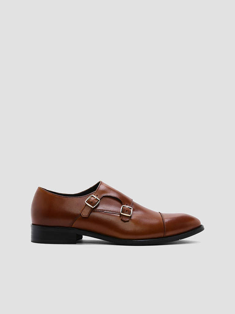 Kevin Cap Toe Double Monk Strap