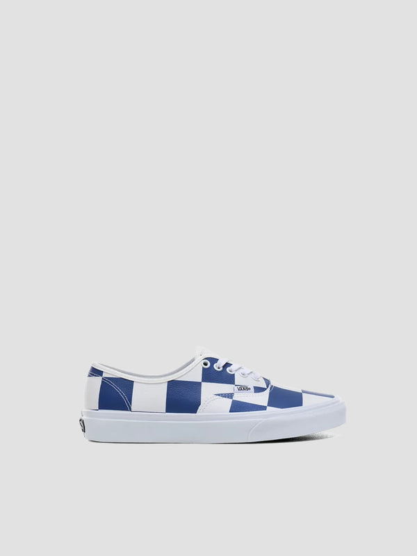 Leather Check Authentic Sneakers