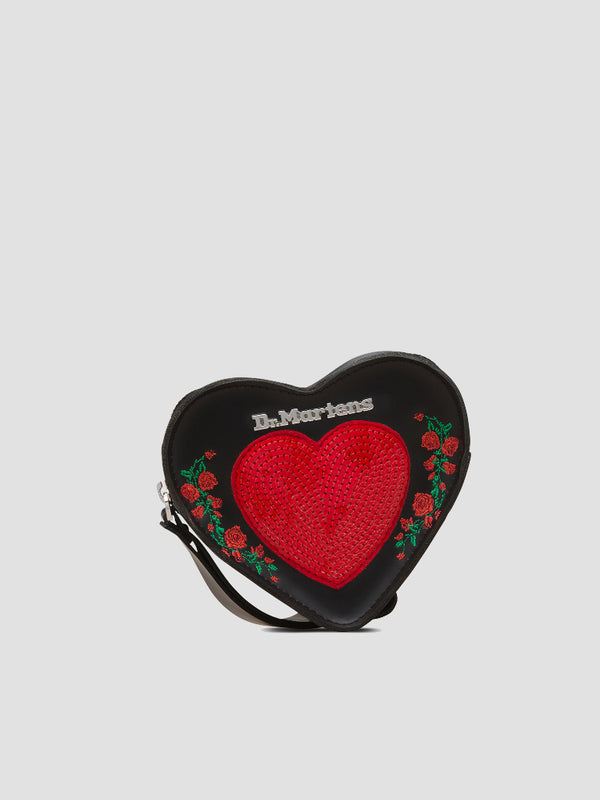 Sequin Heart Purse