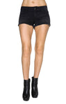 Siwy Denim Camilla cut off short in black diamond