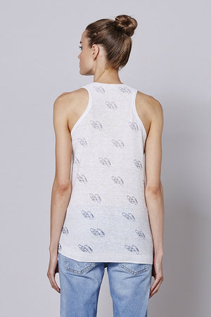 360 sweater Scoop neck racerback tank