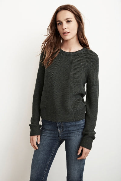 AYNA WOOL BLEND SWEATER