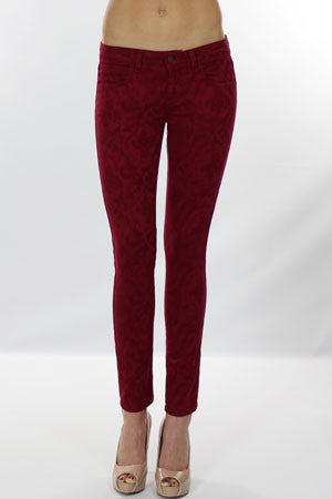 Siwy Denim Hannah Slim Crop jeans in Ruby baby