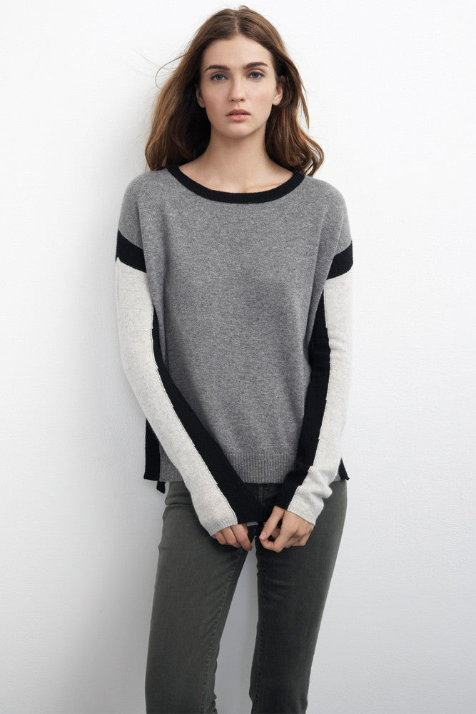 Velvet by Graham Spencer Classic cashmere Sweater
