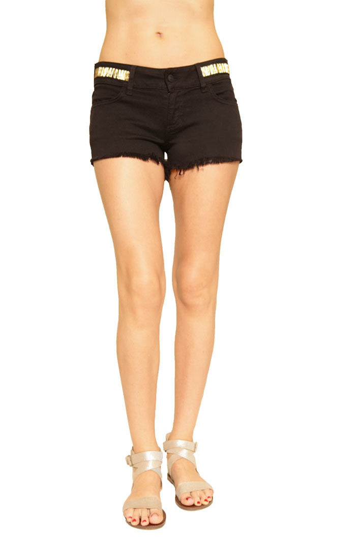 Siwy Denim Camilla Cut Off Shorts in Mystical knights