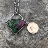 Ruby Zoisite Necklace