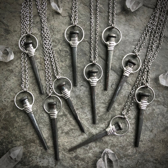 Coffin Nail Necklace ***Made to Order***