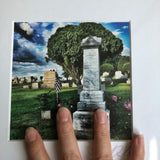 Nicholas Kramer Headstone from Night of the Living Dead Matted Photograph