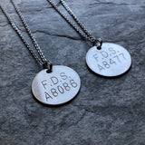 Cremation ID Tag Necklace *You Choose*