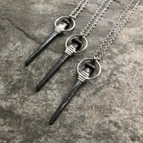 Coffin Nail Necklace