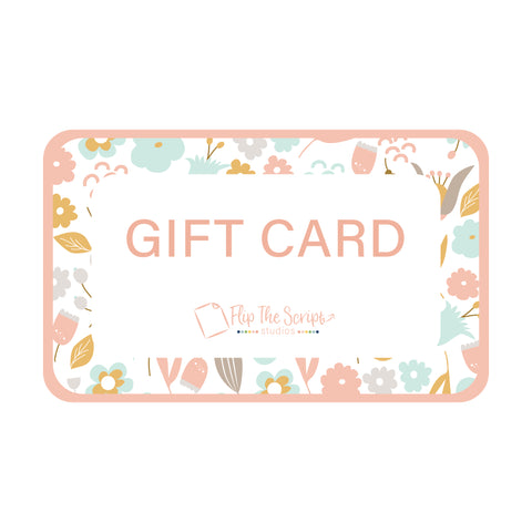 Gift Card - Flip The Script Studios