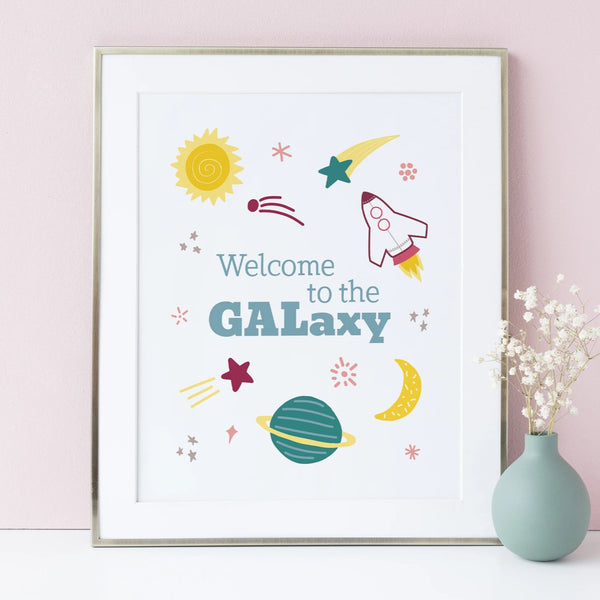 Welcome to the GALaxy Art Print
