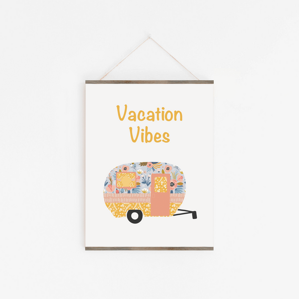 Vacation Vibes Art Print