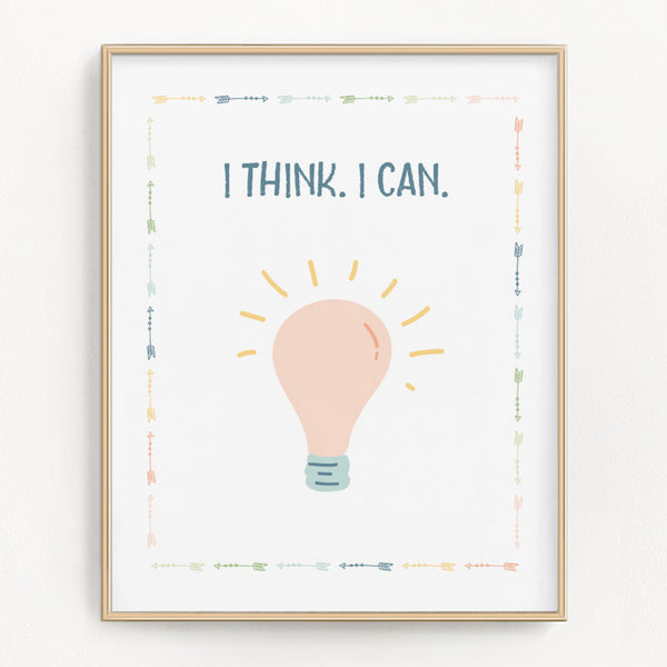 Pastel Science Art Prints (Set of 2)