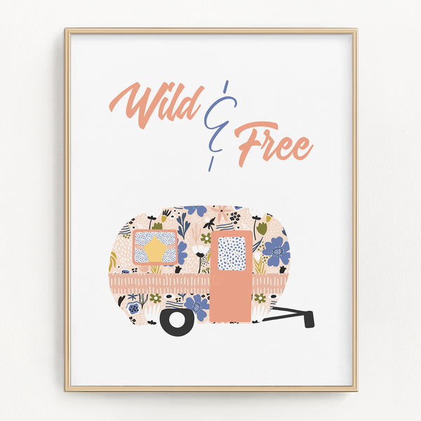 Into The Wild Art Prints (Set of 2)