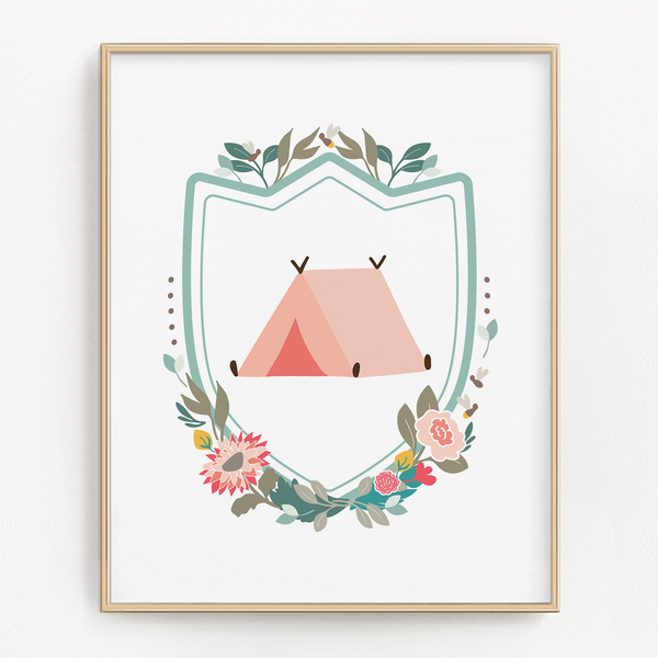 Woodland Adventure Art Prints (Set of 4)