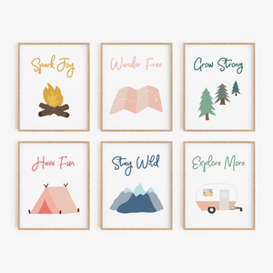 Great Outdoors Art Prints (Set of 6)