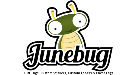 Junebug.com Official Sticker Store - Modern Sticker Design