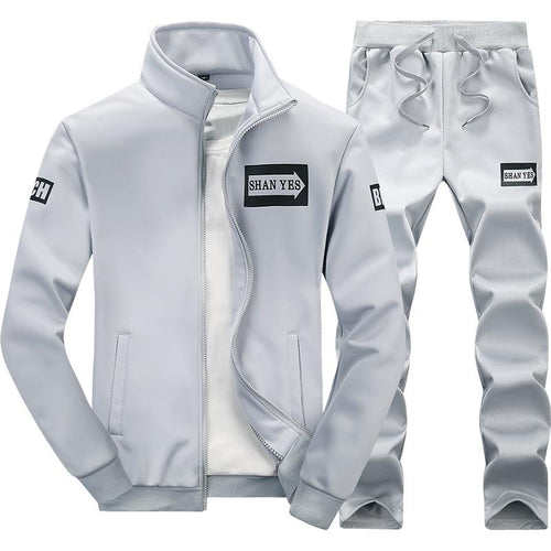 Spring New Fashion Trend Casual Sports Men's Suit