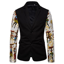 Load image into Gallery viewer, National Style Slim Fit Printed Suit