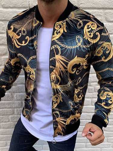 Fashion Chain Pattern Short Jacket