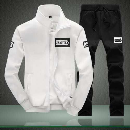 Men's Long Sleeve Set  Sports Sweatshirt Suit