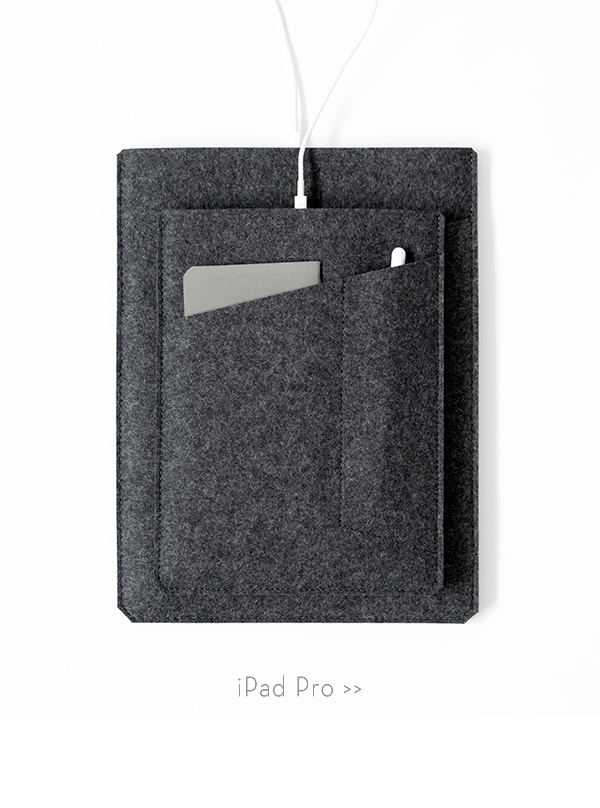 Wool felt cases, sleeves, bags & accessories  Made in the USA