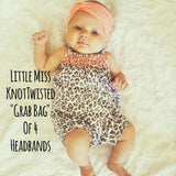 Bundle Deal! 4 Little Miss KnotTwisted HeadBands