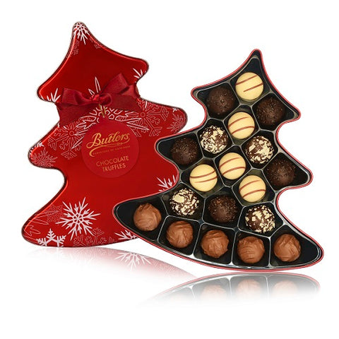 Butlers Chocolate Christmas Tree Tin