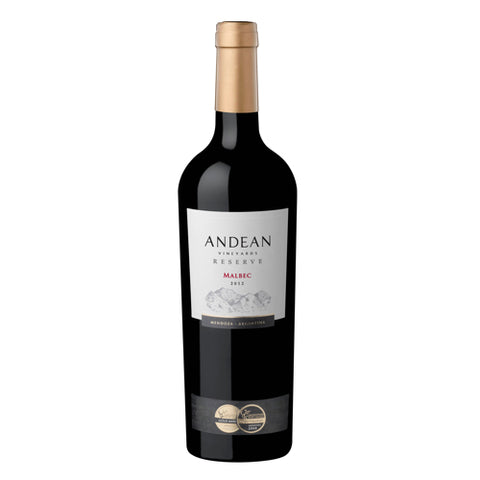 Andean Reserve Malbec Single Bottle