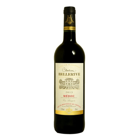 Chateau Bellerive Medoc Bordeaux 2014 Single Bottle