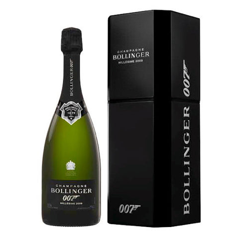 Bollinger 007 'Spectre' Limited Edition ;Dressed to Kill Champagne 2009