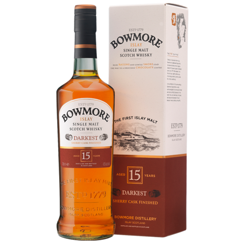 Bowmore 15 Year Old Darkset