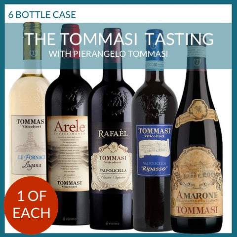 The Tommasi Online Tasting Case