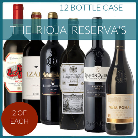 The Rioja Reservas - 12 Bottles