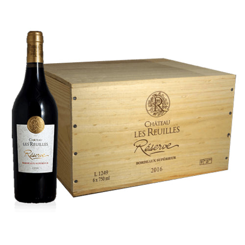 Chateau Les Reuilles Reserve Bordeaux Superieur Single Bottle