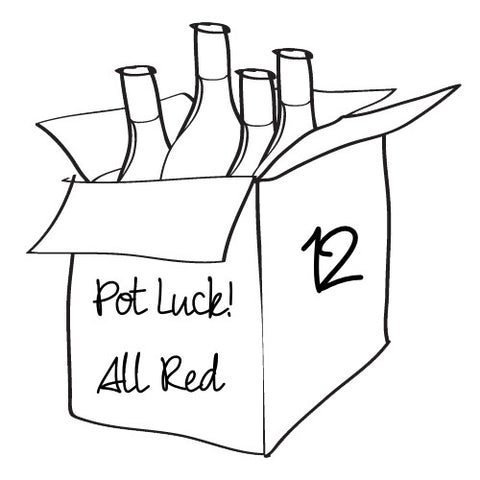 Pot Luck - All Red - 12 Bottle Case