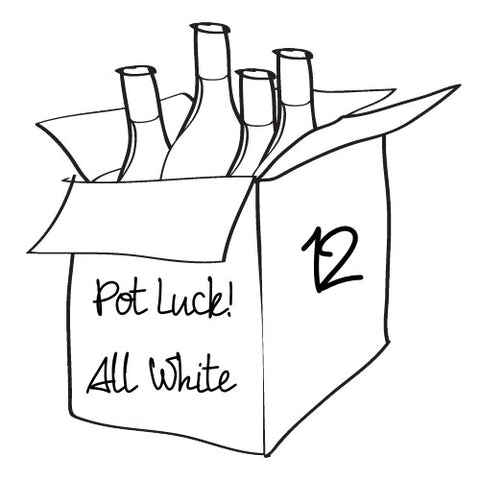 Pot Luck - All White - 12 Bottle Case