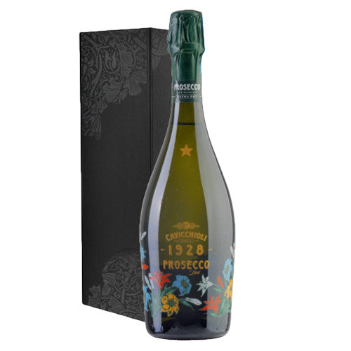 Prosecco Caviciolli Spumante DOC Single Bottle Gift