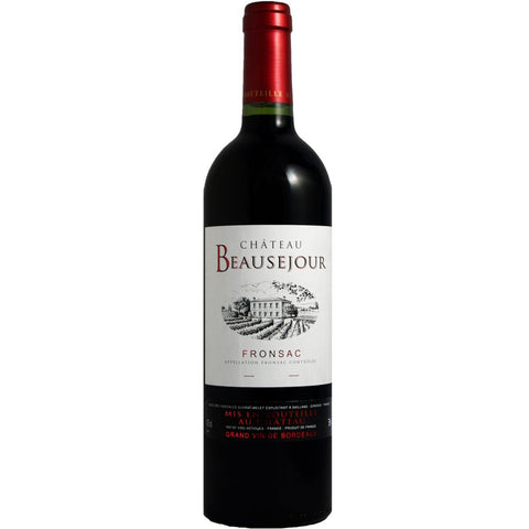 Chateau Beausejour Bordeaux Fronsac Single Bottle