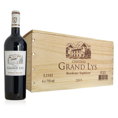 Chateau Grand Lys Bordeaux Superieur Single Bottle