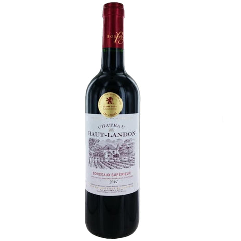Chateau Haut Landon Bordeaux Superieur Single Bottle