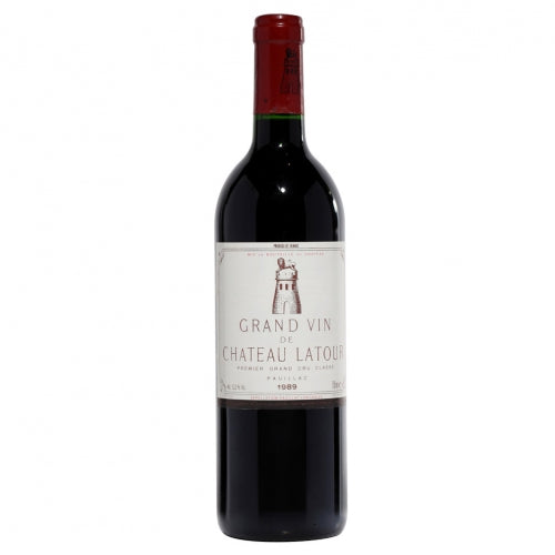 Chateau Latour 1989 1er Grand Cru Classe Paulliac Single Bottle