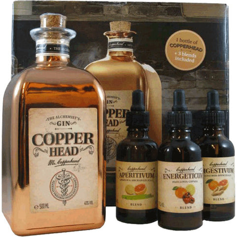 Copperhead Alchemist Gin Box 50cl